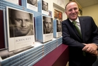 Prime Minister John Key at the  launch of his biography. Photo / Richard Robinson