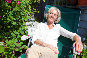 Green spaces helped care home residents relax, researchers say. Photo / Thinkstock