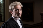 David Tennant says there's a huge performance element in courtroom work.