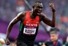 Kenyan Olympic champion David Rudisha sparkled. Photo / AP