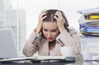 Stressful events reported by women include arguments with work colleagues or spouses and job-related pressures.  Photo / Thinkstock