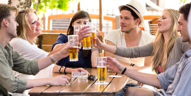Low-alcohol beer is popular, but sales of lighter wine varieties are picking up too. Photo / Thinkstock