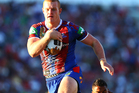 The Warriors have pledged $20,000 to the fundraising efforts for injured Newcastle player Alex McKinnon. Photo / Getty Images.