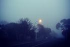 Fog on Auckland's North Shore. Photo / Rachel Bache