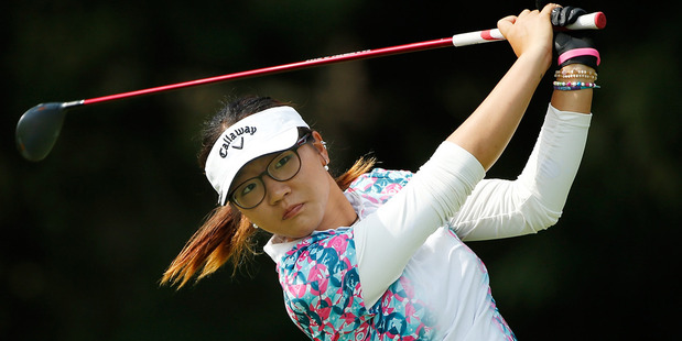 Lydia Ko in action during the second round of the LPGA Tour's Marathon Classic tournament. Photo / Getty Images