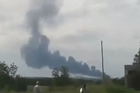 Malaysia Airlines Plane Shot Down And Crashes in Ukraine. Courtesy: YouTube/mike reyes