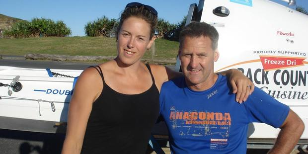 Sarah Donaldson wife of kayaker Scott Donaldson should be up for wife of the year.