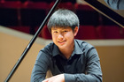 Delvan Lin was the indisputable winner of the Wallace National Junior Piano Competition. Photo / Kelly Eady Loveridge