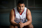Taniela Tupou said he was trying to be the best player he could be. Photo / Sarah Ivey