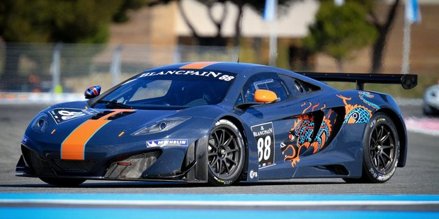V8 Supercars driver Shane van Gisbergen is joining Von Ryan Racing to contest the Spa Francorchamps race in a McLaren MP12-4C GT3 car.  Picture / Supplied