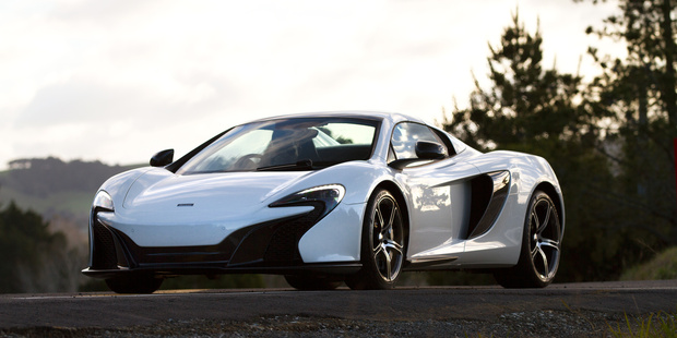 The McLaren machismo is alive and well. Pictures / Brad Lord