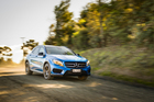 The Mercedes GLA 250 4MATIC is suitable for New Zealand off-roading. Pictures / Ted Baghurst