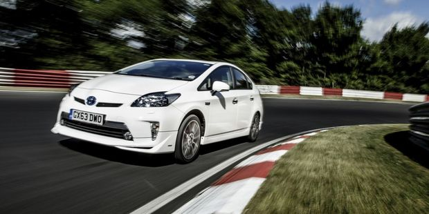 Toyota Prius TRD took on the Nurburgring. Photo / Supplied
