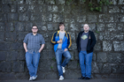 Path of Exile creators Jonathan Rogers, Eric Olofsson and Chris Wilson. Photo / Richard Robinson