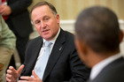 John Key's recent visit to the White House certainly didn't hurt National - and the PM's - popularity in the polls. AP Photo/Pablo Martinez Monsivais