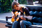Keira Knightley mastered the guitar and singing in Begin Again, with her voice a mix of Suzanne Vega and Joni Mitchell.