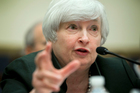 Federal Reserve Chair Janet Yellen testifies on Capitol Hill in Washington, overnight. Photo / AP