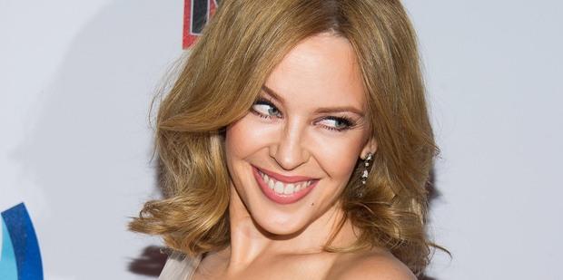 Kylie Minogue. Photo / AP