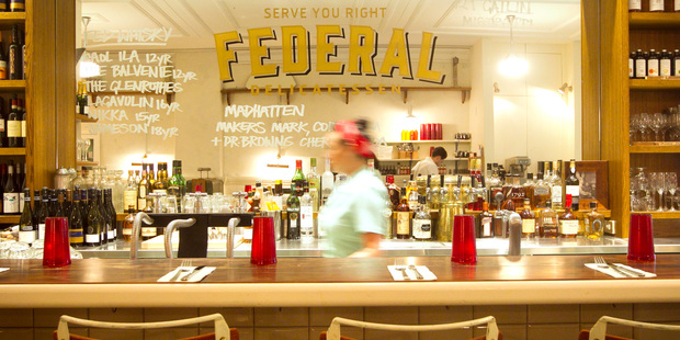 The Federal Delicatessen. Photo /  Natalie Slade