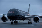 Air New Zealand's first 787-9 Dreamliner. Photo / Brett Phibbs