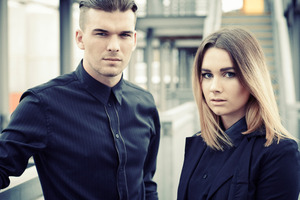 Broods are brother-sister duo Caleb and Georgia Nott.