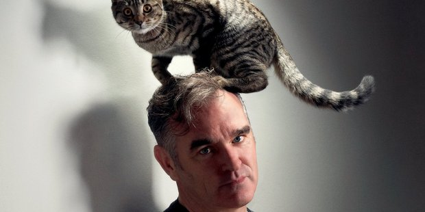 Morrissey (and friend).