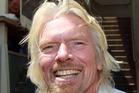 Richard Branson. Photo / Doug Sherring
