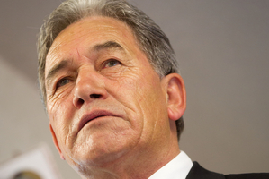 New Zealand First Leader Winston Peters.  Photo / New Zealand Herald Photograph / Richard Robinson.