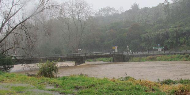 Bridge crossing the Ohinemuri River at Waitawheta connecting to SH2 in the Karangahake Gorge. Photo / file