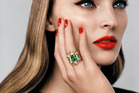 'Cher Dior' Fascinante emerald ring.