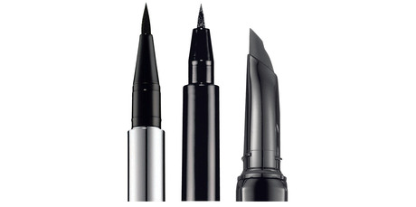 Chantecaille Le Stylo Ultra Slim Liquid Eyeliner; Lorde's favourite liquid liner; Benefit They're Real Push Up Liner.