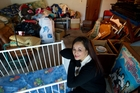 Owhata resident Ngawhainga Kiriona-Winiata has a garage full of items to give to those in need. Photo/Stephen Parker