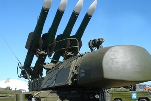 A BUK surface-to-air missile launcher is believed to have shot down the Malaysia Airlines jet. Photo / Wikipedia