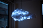 The Cloud 2.0 uses motion sensors to create a unique lightning and thunder show. Photo / Richard Clarkson Studio