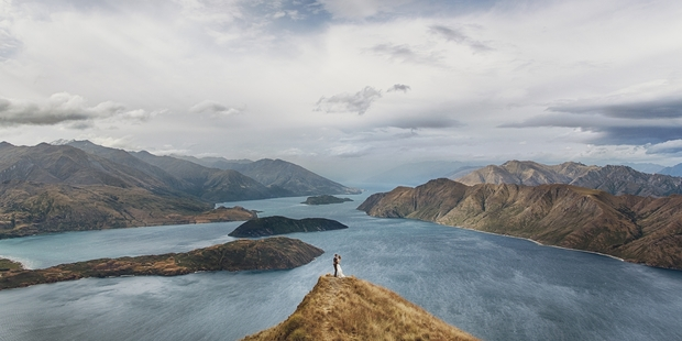The photos were taken on Mt Roy, near Wanaka. Photo / Eric Ronald