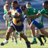 120114sp47 Bay of Plenty's Te Aihe Toma versus Manawatu. Bayleys National Sevens at Rotorua International Stadium. 12 Janary 2014 Daily Post photograph by Stephen Parker