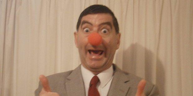 Mr Bean, aka Grant Smith-Pilling.