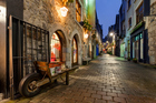 The cobbled streets of Galway lead to musical delights galore. Photo / Thinkstock