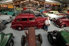In a modest shed on Bruce Ardell's Fordell property is a jaw-dropping collection of motor vehicles. Photo/Stuart Munro