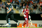 Adam Milne has been the talk of New Zealand cricket for the last week. Photo / Getty