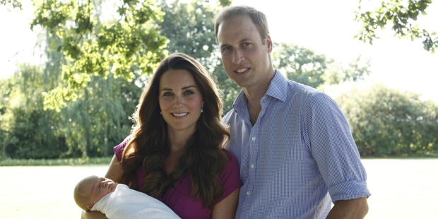 William and Kate are bringing baby George to New Zealand and Australia in April.