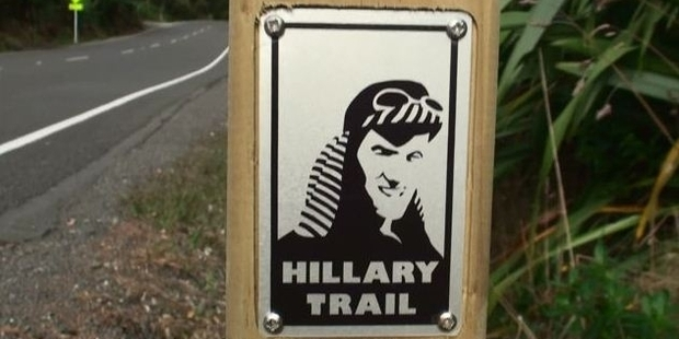 Marker plaques on the Hillary Trail in the Waitakeres are disappearing.