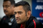 India cricket captain MS Dhoni leads a side with great batting depth and more than useful bowlers. Photo / Sarah Ivey
