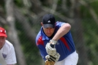 FINALS: The T20 reserve grade cricket competition wraps up today. Pictured is Geyser 1 batsman Kane Vanner. PHOTO/ANDREW WARNER A - 021113AW08