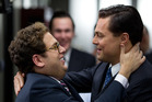 Jonah Hill, left, and Leonardo DiCaprio in a scene from The Wolf of Wall Street.