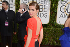 Emma Watson at the Golden Globes. Photo / AP