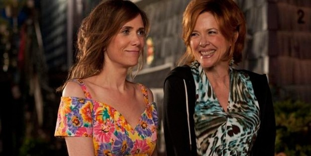 Annette Bening (right) plays, Zelda, Wigg's equally eccentric mother.