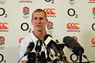 England coach Stuart Lancaster. Photo / Getty