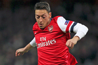 Mesut Ozil's arrival has helped drive Arsenal to the top of the table. Photo / AP