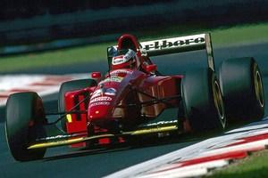 Ex Gehard Berger Ferrari 412T